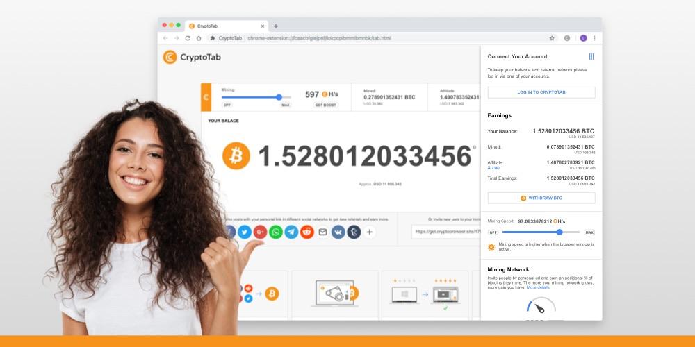 Kullandıkça Bitcoin Kazandıran Tarayıcı: CryptoTab Browser