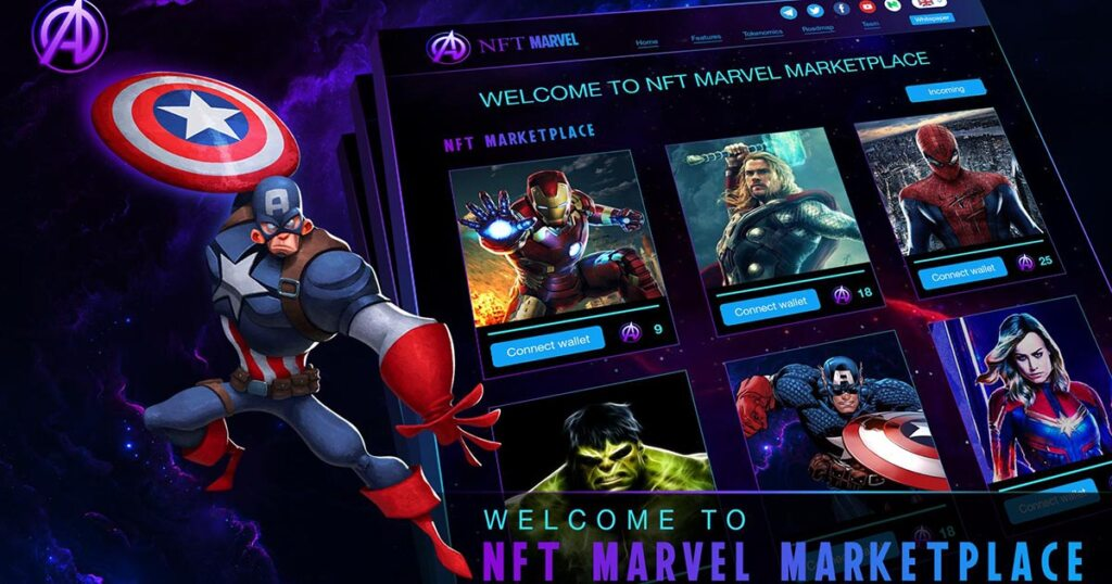 Marvel NFT Çıkarmaya Hazırlanıyor!