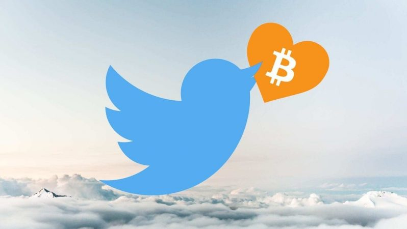 Bitcoin Twitter'ın büyük bir parçası olacak